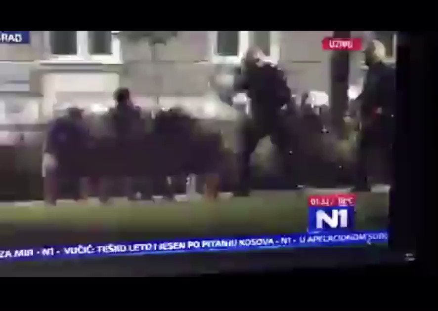 Protestors are literally just sitting on a bench and theyre Beating them?? U cant make this shit up