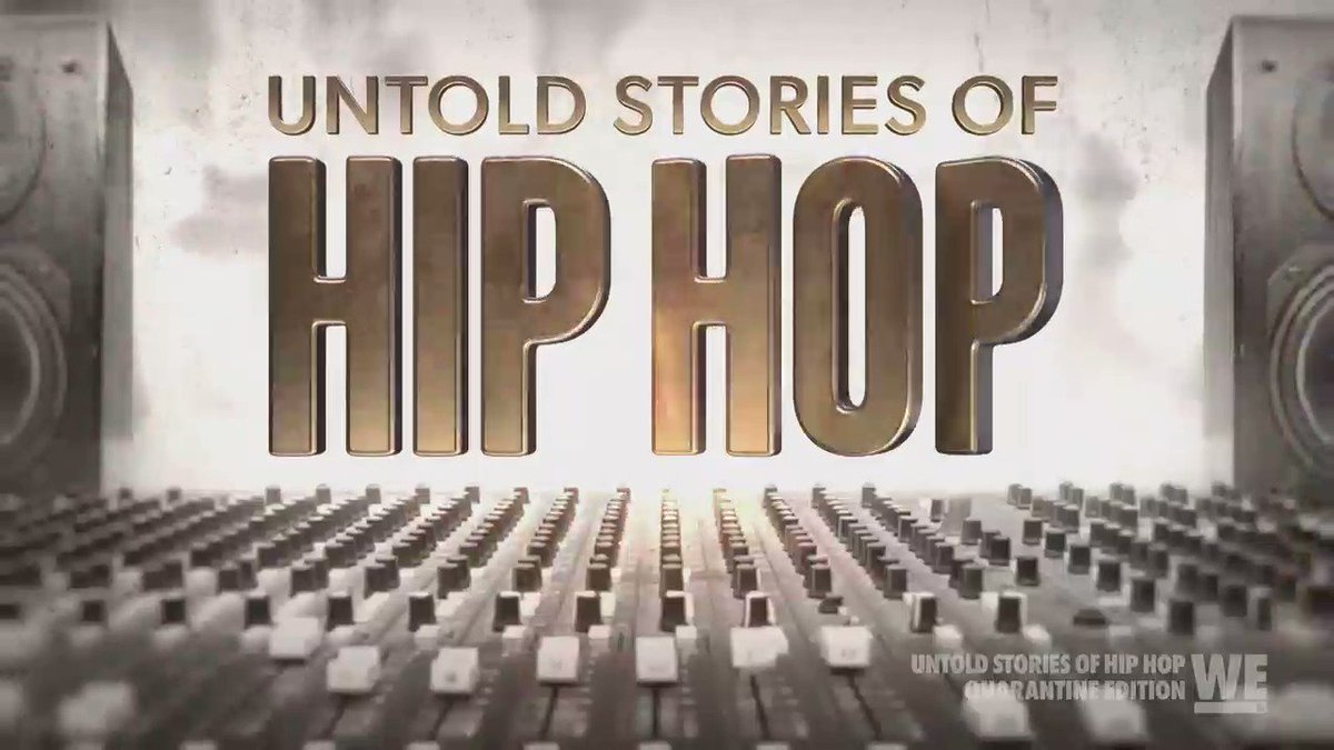and we have a special guest at the end of the show! 👀😜 #Untoldstoriesofhiphop @WEtv