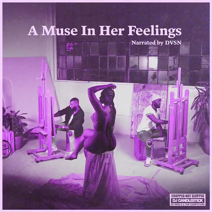 We just wanted you deeper in your feelings for the summer… A MUSE IN HER FEELINGS CHOPPED NOT SLOPPED ALBUM ➗OUT NOW➗ OVOSOUND.lnk.to/AMIHFChopNotSl… #choppednotslopped