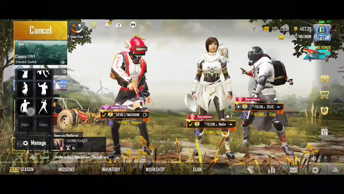 Going crazy before the match...🕺  #letsnacho #dhinchak #India #tencent #PUBGMOBILE @PUBGMOBILE @PUBGMOBILE_IN #PMWL @RT_Himachal #viralvideo
