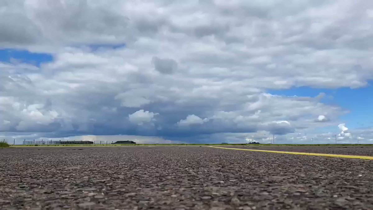 Replying to @thehistoryguy: Gathering storm at @RAFScampton