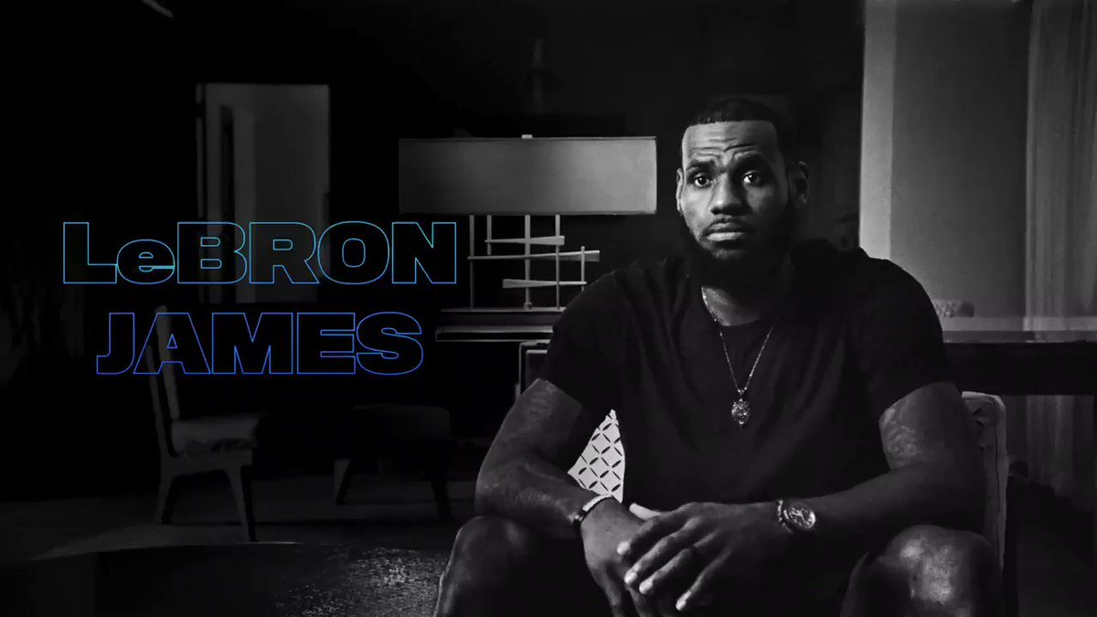 Replying to @KingJames: I know who I am. This is what I am. 👑 #GreatnessCode drops today on @AppleTV 💪🏾😤🚀