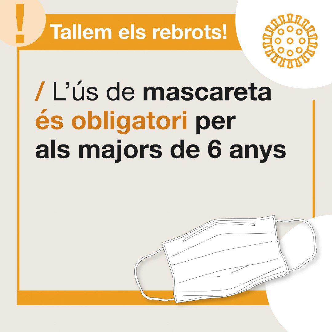 Image for the Tweet beginning: Tallem els rebrots !!!! @salutcat