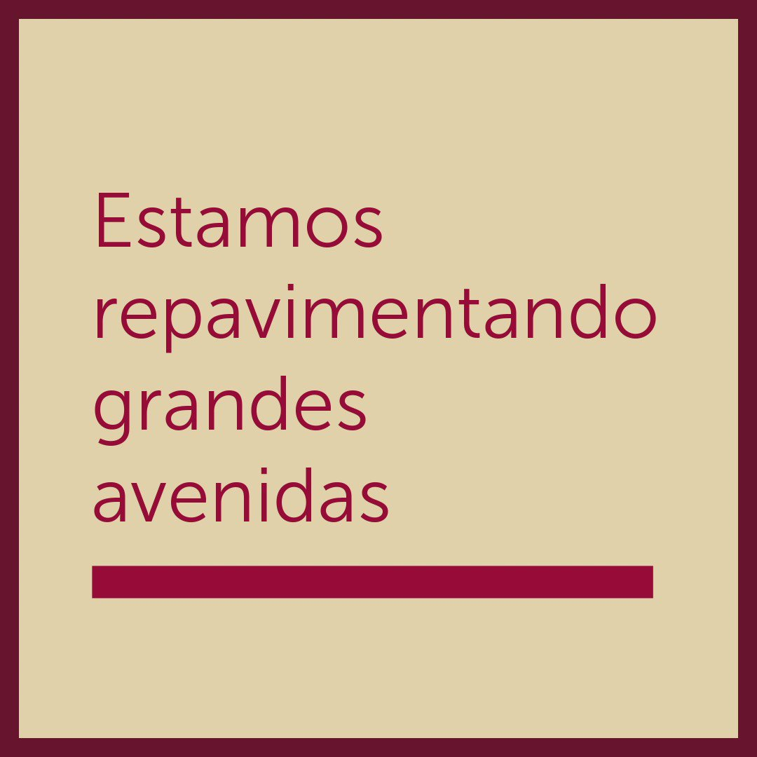 Image for the Tweet beginning: El mantenimiento de la Ciudad
