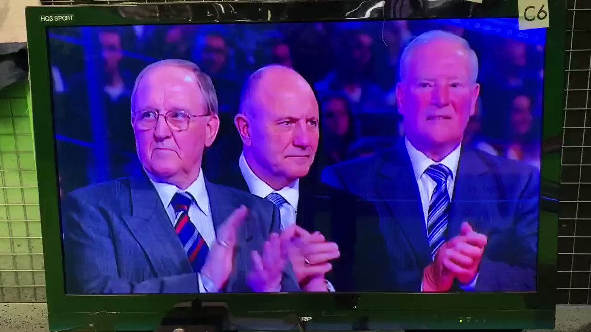This clip of Jack Charlton paying tribute to his brother Bobby at Sports Personality of The Year... and then Bobby's bowed head in response... is beautiful