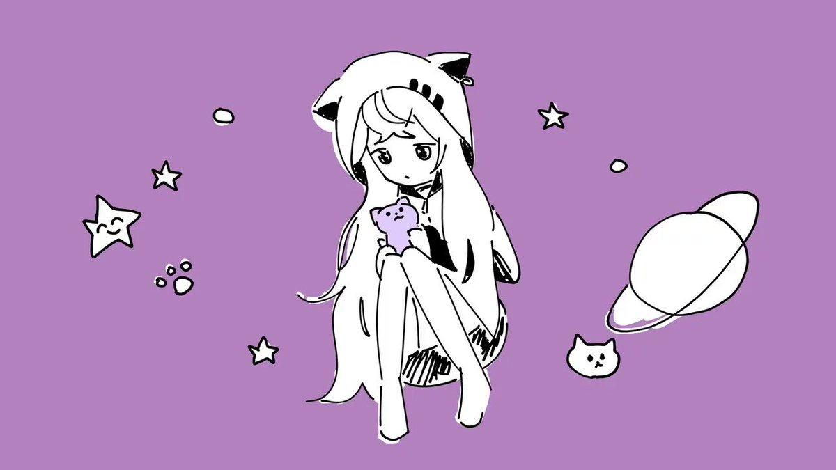 新しいKAWAII動画を投稿しました!惑星ループを猫語で歌ってみた🐈【アズマリム】  @YouTubeより