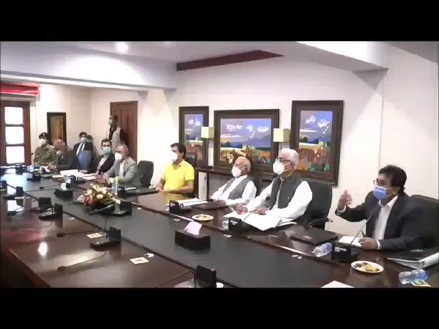 Prime Minister @ImranKhanPTI chaired a meeting of the Finance and Economy Think-Tank today. Prime Minister Imran Khan emphasized that out-of-the-box solutions are required for economic growth in these crucial times.