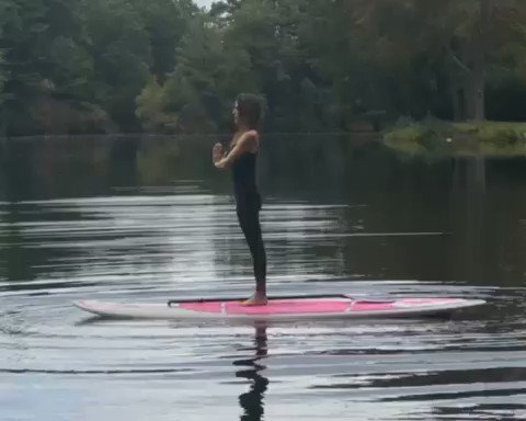 @enviroartist I will work on crafting a breathing video from my paddle board. Great idea! #paddleboard