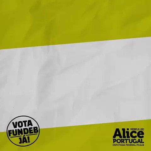 Excelente material produzido pela deputada @Alice_Portugal   #Fundeb  #novofundebjá  #aprovafundeb https://t.co/CTq0EKCsUc