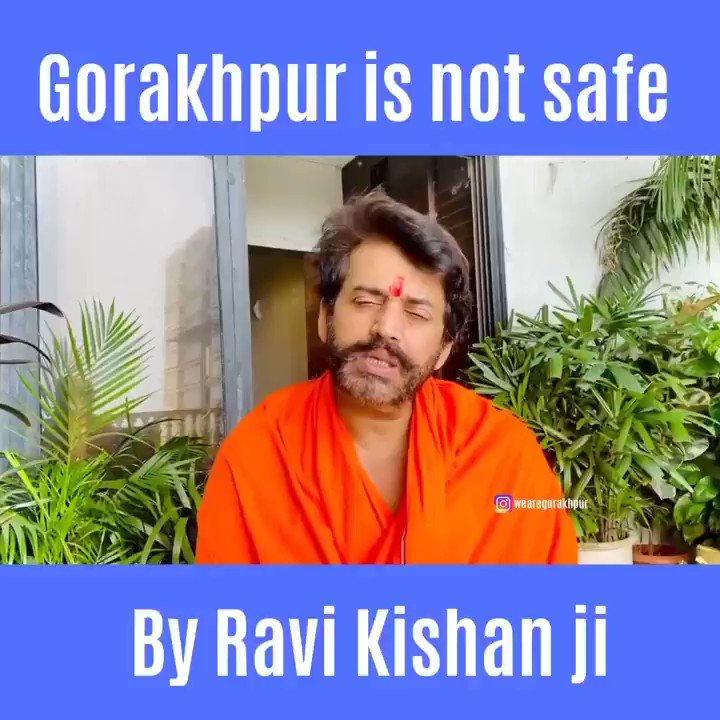 Message by @ravikishann ji..Please #Gorakhpur take it very seriously . . Share this video to your love ones . . Huge request by @wearegorakhpur   #ravikishan @myogi_adityanath @bjp4india #YogiAdityanath #covid19 #covid #coronavirus #coronavid19 #coronatime #Lockdown5 pic.twitter.com/6XdqsKNpAG