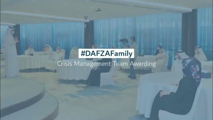 #DAFZA organized an awarding ceremony to recognise the efforts of the crisis management team members and volunteers during the Corona Pandemic. The ceremony was held in the presence of Dr. Mohammed Al Zarooni, Director General of DAFZA. https://t.co/jBazhY0ZUC