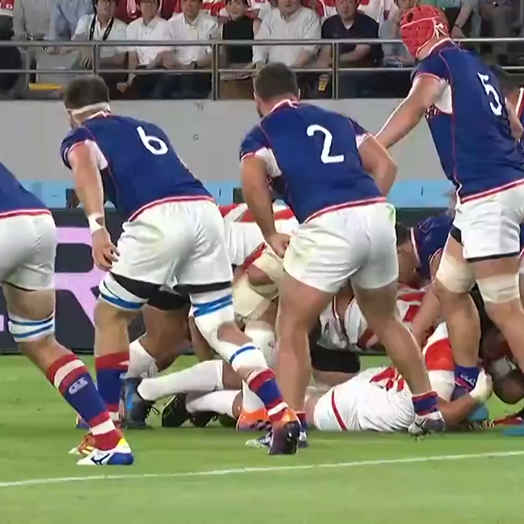 Almost 10 months and we're still watching @JRFURugby's first try of #RWC2019 on repeat:   ⭐️ The offload from @TimLafaele  ⭐️ The pass from Will Tupou ⭐️ The finish from @kouta121315 https://t.co/LKe8s62y9U