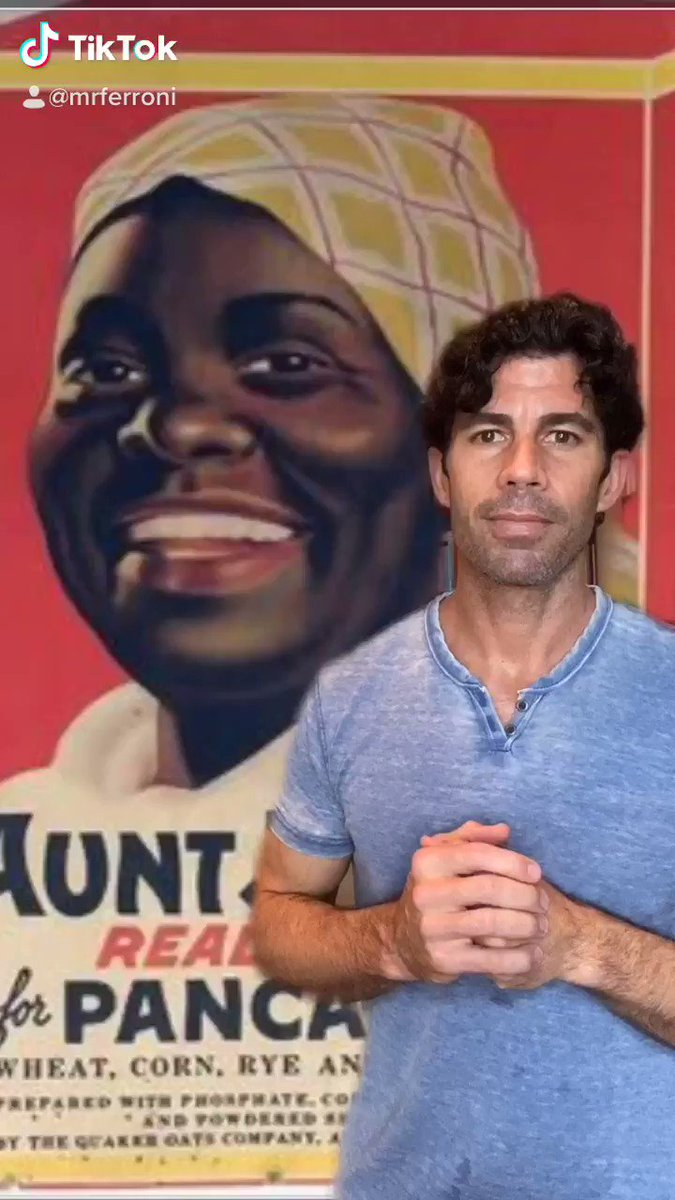 """Why food brands like """"Aunt Jemima"""" chose racist stereotypes to sell their products:"""