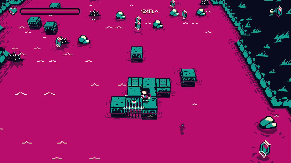 Hey! We finished that pink thing :D Play and vote for #pinkriver on #gmtkjam here: https://itch.io/jam/gmtk-2020/rate/697103… #gamedev #indiedev #pixelart #madewithunity pic.twitter.com/GALEQDCSLp