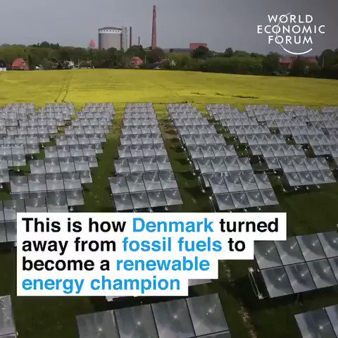 90% of Denmarks energy used to come from oil imports Now: 40% of elec. comes from wind. One offshore #wind farm powers 425,000 homes. Danish equip produces 1/3 of the worlds #windpower And they arent done. We have the solutions, let implement them #ActOnClimate #GreenNewDeal
