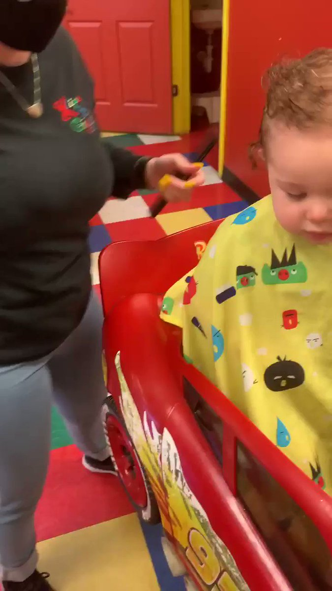 Babes first haircut 😭♥️ #baby #mom more of munchkin-