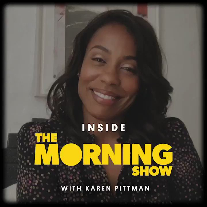 """""""No woman is not familiar with a very charismatic predator."""" @thekarenpittman speaks to how thoughtfully the gray areas of Mia's character arc were handled in @TheMorningShow."""