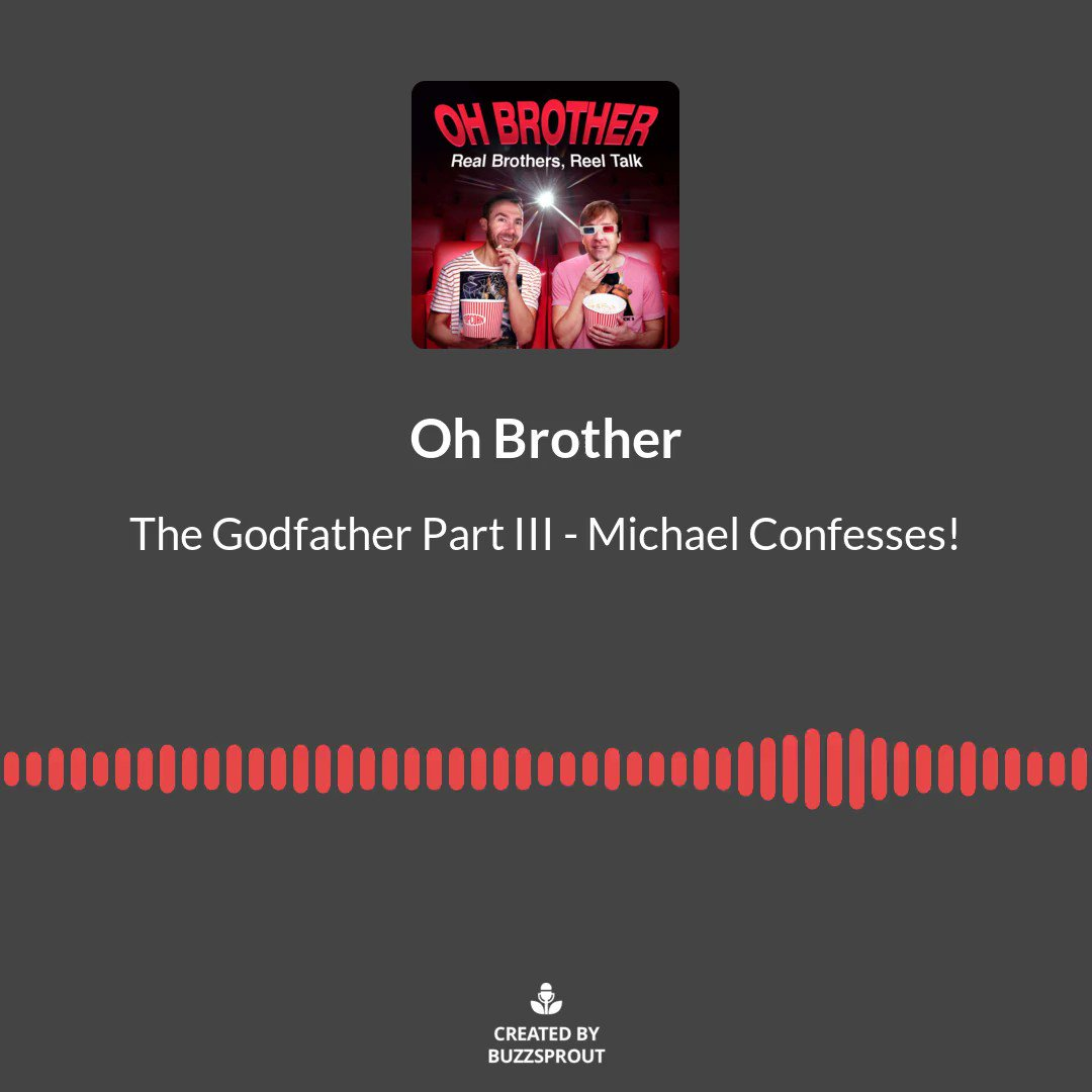 Check out this podcast! Why You Should Love The Godfather Part III … https://www.iheart.com/podcast/269-oh-brother-65256493/episode/why-you-should-love-the-godfather-part-iii-66246174?cmp=ios_share&sc=ios_social_share&pr=false… #movies #film #Cinemapic.twitter.com/1uU2dUmVSp