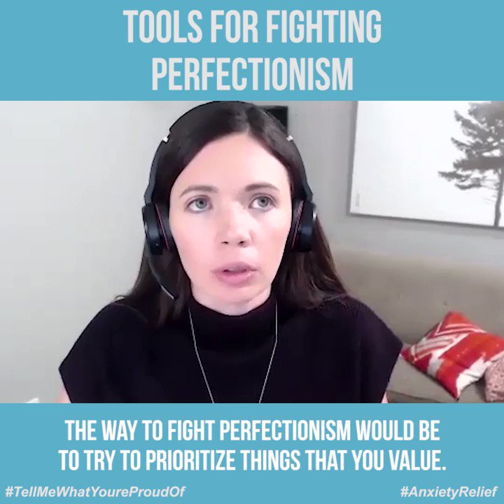 Tools for Fighting Perfectionism https://buff.ly/2Daq8Fz   #Perfectionism #ClinicalPerfectionism #Tools pic.twitter.com/ZYO16PP7Ar