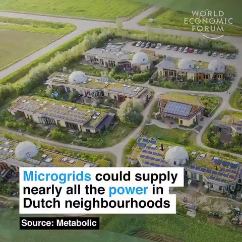 These microgrids allow houses to share energy. Theyve already helped one Dutch village become 90% energy self-sufficient We have the solutions to the #climatecrisis. Lets implement them. Sign on today: buff.ly/2ZkUu2F #ActOnClimate #climate #energy #cdnpoli #IPCC