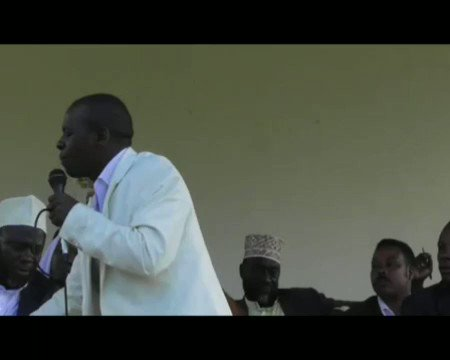 Apostle Robert Bakaluba preaching to the muslims about the truth in Christianity