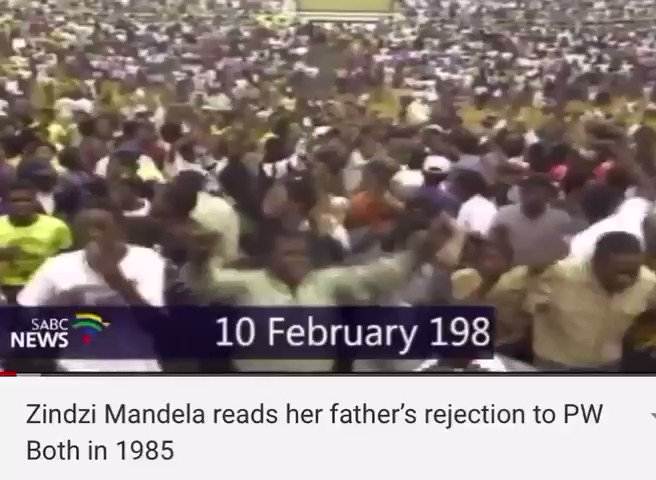 I'm shocked, heartsick to learn of sudden passing of our dear si Ambassador Zindzi Mandela. What a loss. An extraordinary woman. I'll never forget her reading her father's letter from jail to hopeful world in 1985. Go well my sister. We could never repay all that you sacrificed