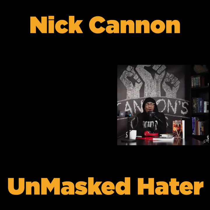 .@FOXTV cant pull the plug one week on Farrakhan for his vile hatred of Americans and Jews but stay silent the next when one of their presenters @NickCannon indulges in the very same hatred! @AmericansAA calls on FOX to - Condemn - Apologize - Educate @ADL #StopHateforProfit