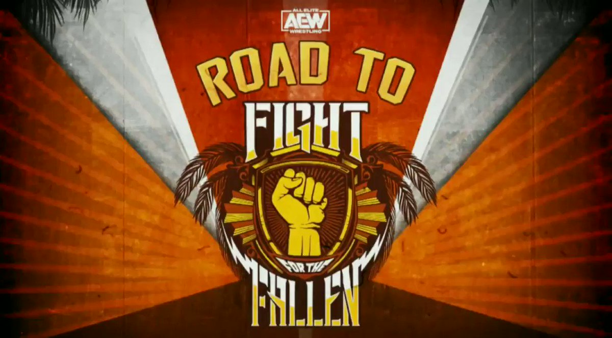 Road to Fight for the Fallen will premiere via our Official YouTube Channel TONIGHT at 7e/6c as we break down your entire match card. Subscribe to our channel via the link ➡️ youtube.com/AllEliteWrestl…