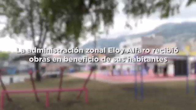 ¡Las obras siguen por un #QuitoGrandeOtraVez! Vecinos de @zonaleloyalfaro se benefician de repavimentación, mejoramiento y adecuación de canchas, veredas, parque infantil y casas comunales gestionados por Presupuestos Participativos. #NoTeRelajes https://t.co/yhxhX2AjXB