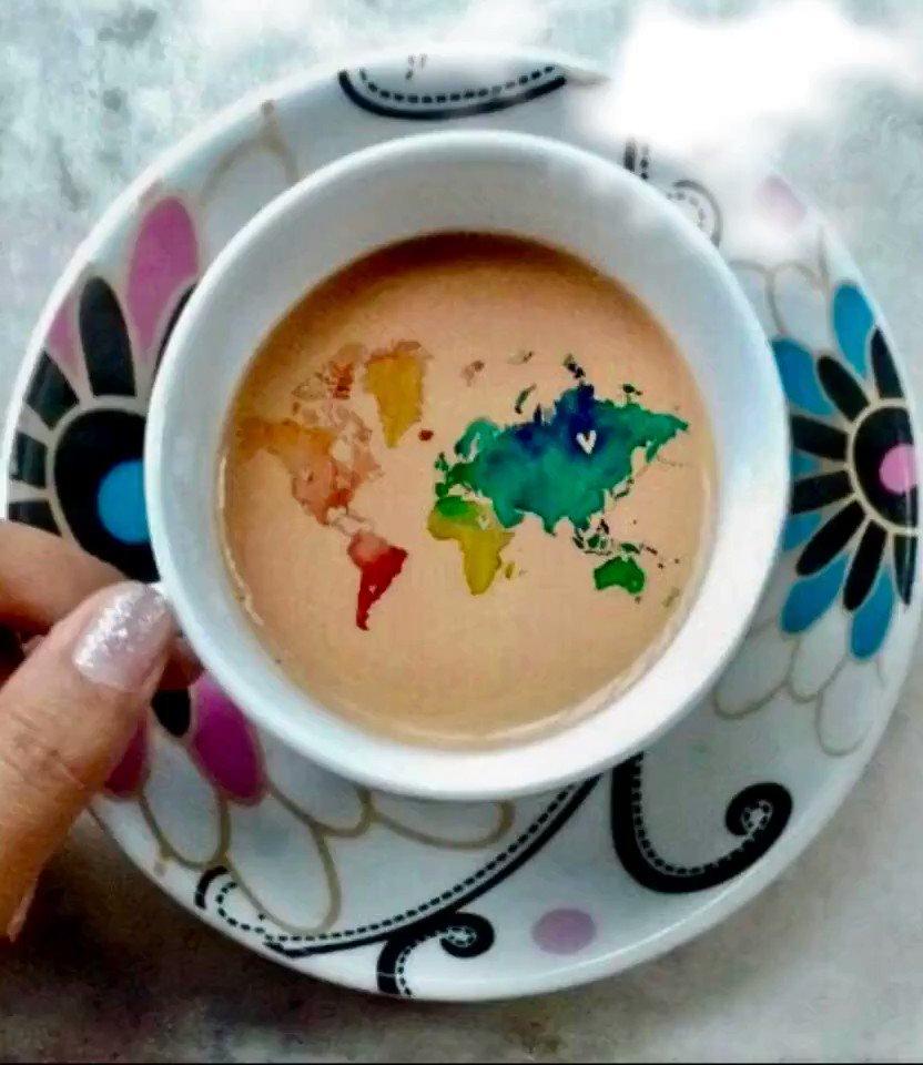 Giorni in cui la voglia di andare in vacanza è maggiore della voglia di caffè!! ✈️☕️ Buondì my friends, accomodatevi che si vola (almeno con la fantasia)...