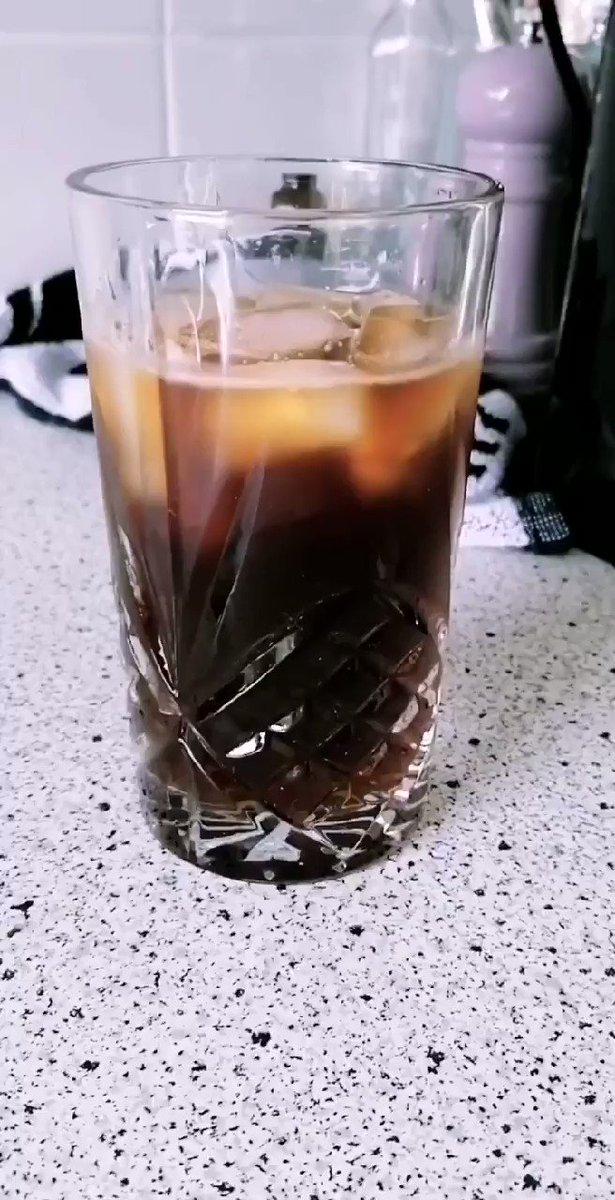 Vegan ice coffee 💚