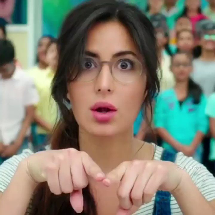Love you KAT You are such a baby... Adorable  🤗  دل الو کا پٹھا ہے 😂😂😂  #KatrinaKaif
