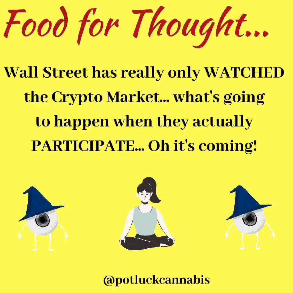 Image for the Tweet beginning: Watching #Crypto test higher daily,