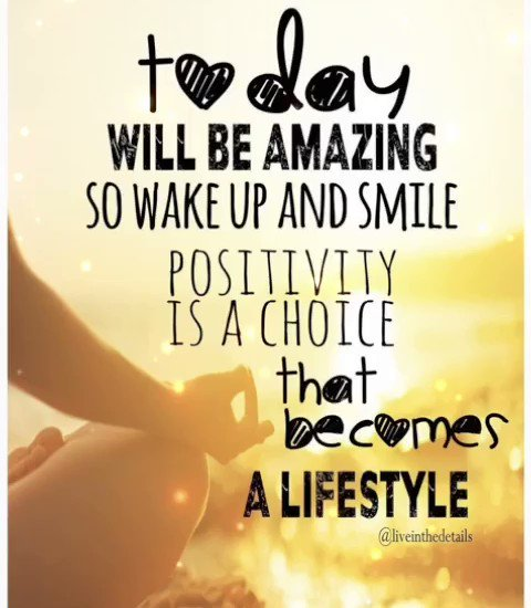 Today will be amazing so wake up and smile.... #tuesdaymorning #TuesdayMotivation #tuesdaymood #TuesdayThoughts #tuesdayvibes #Tuesday #motivation #quotes #quote #Inspiration #inspirationalquotes #inspirational