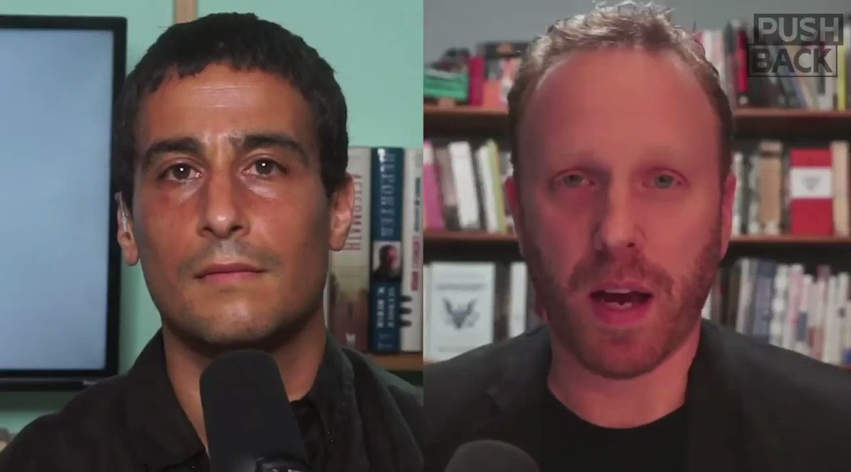 .@MaxBlumenthal explains how Bari Weiss, signer of Harper's letter & newly resigned from NYT, tried to cancel Palestinian scholar Joseph Massad at Columbia University. Far from apologizing, Weiss continues to smear pro-Palestinian activism as anti-Semitic.