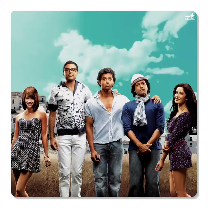 #9YearsOfZNMD ! Can't wait anymore for our next road trip! Kya bolte my bouy and gals #ZoyaAkhtar @kagtireema @FarOutAkhtar ???   Will always cherish the moments of this incredible journey with @iHrithik #KatrinaKaif @AbhayDeol @kalkikanmani https://t.co/Ok29aH9SY1