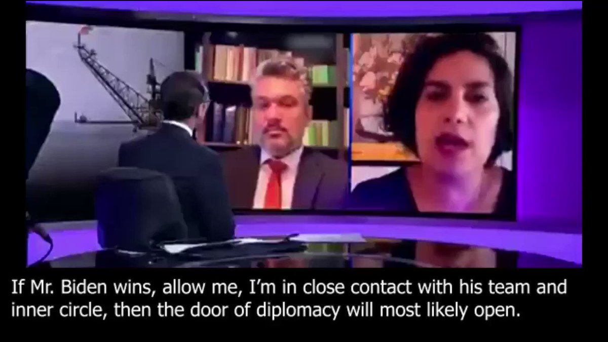 THREAD 1) NYT: #Iran's deputy FM @araghchi has tried to pass on to Biden's advisers through intermediaries Tehran's insistence that the U.S. return to the Iran deal unconditionally. Iran lobbyist @NegarMortazavi says she has close ties with Team Biden.