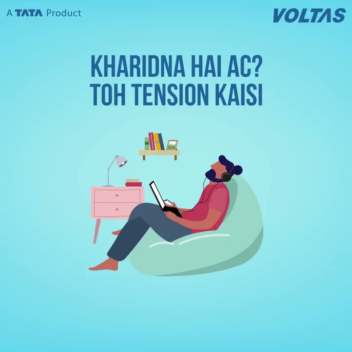 Another reason to make Voltas ACs' your preferred choice. Avail Easy EMI options to purchase any Voltas AC and bring home joy, comfort & cool breezy air for your family. Get yours today at the nearest Voltas store (https://t.co/5GZhzNQx1y) or book at https://t.co/qB2Pn52q2U (1/2) https://t.co/6N98f4c3LB