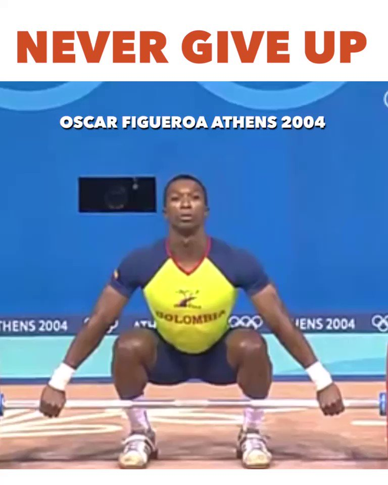 Never give up on your dreams. Nothing but respect for Oscar Figueroa.💪