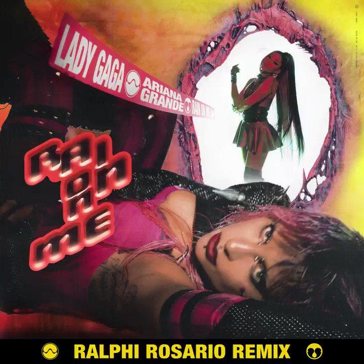 #RainOnMe ⛈ @RalphiRosario Remix https://t.co/vQ7GiEDX6w https://t.co/EMK20NOSwW