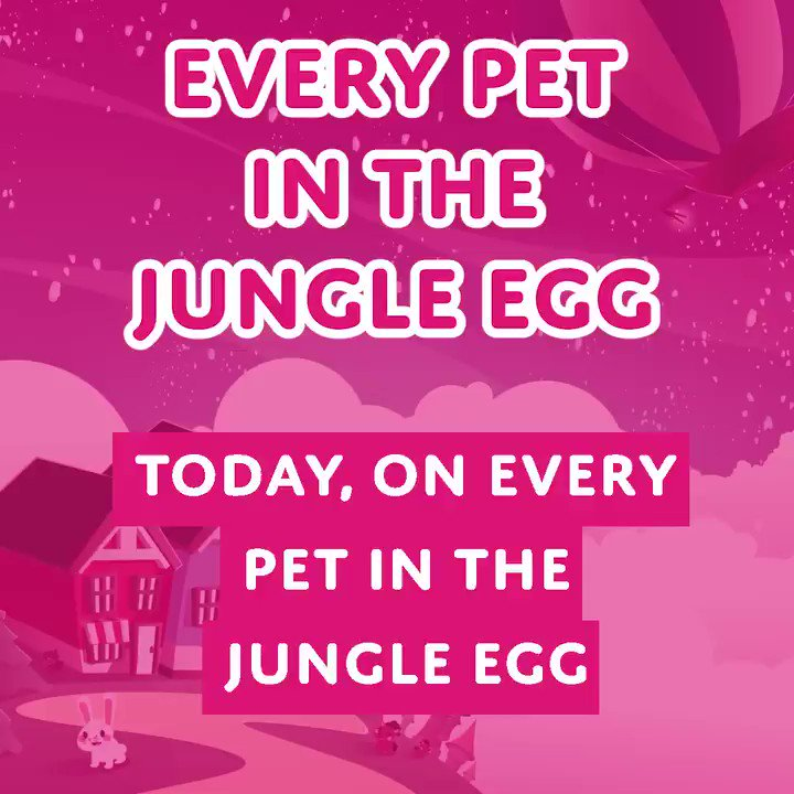 Adopt Me On Twitter New Video Every Pet In The Jungle Egg Creativebinlord Puts Tactful Bykotney To The Test With The Every Pet In The Jungle Egg Quiz Do