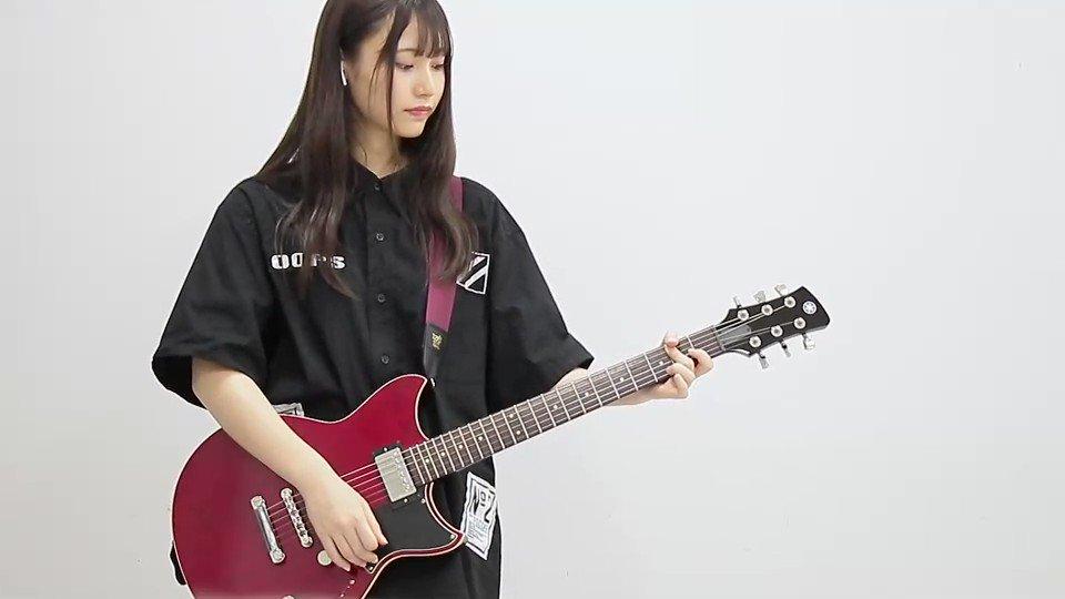 今日の #さあやギター 配信で弾いた『世界はどこまで青空なのか?』の動画です!CDの音源と一緒に合わせて弾いた動画は、後でTikTokの方に投稿しますのでそちらもお楽しみに😊💭