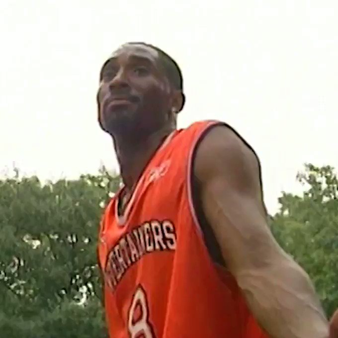 Kobe Bryant showed out at Rucker Park 18 years ago today, recording 15 points, 7 assists, and 7 boards before game ended early due to rain.  Check out @ButtaButtaWorld for more exclusive Rucker Park footage. Instrumental by the one and only @9thwonder. https://t.co/uSOMYHWPN5
