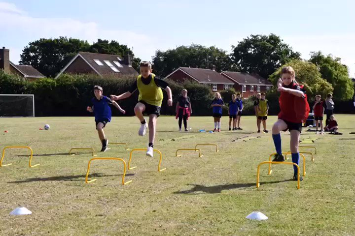 Year 6 Sports Day - a little different but still great fun!