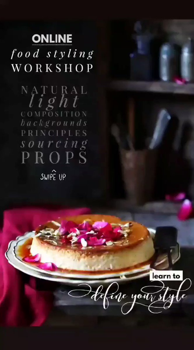 Online Food Styling Workshop ... Do you want to define your style? Come join in #foodphotography #foodstyling #OnlineClasses #onlineworkshop https://t.co/awwhvQMs7T https://t.co/1MmYhFyZ6V