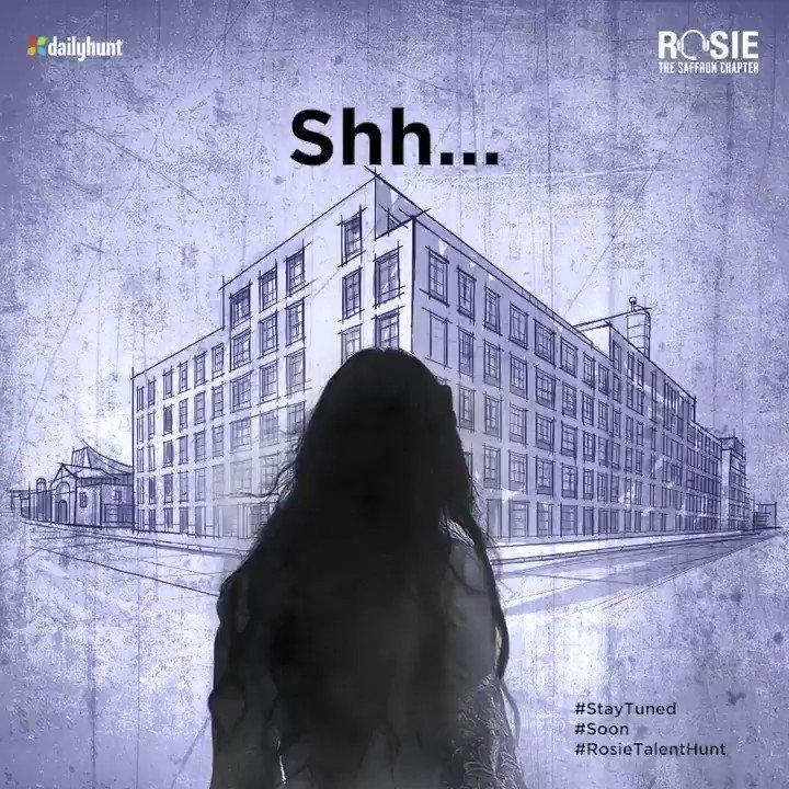 Shh.. did you hear that? We are looking for you. Stay spooked to know more. @vivekoberoi | #PrernaVArora | @mishravishal | @girishjohar | @IKussum | @d_reshabh | @u_dhanesh | @ikeyurpandya |@sanjeetyermal | @RosieIsComing #MandiraaEntertainment | @DailyhuntApp | #RosieTalentHunt