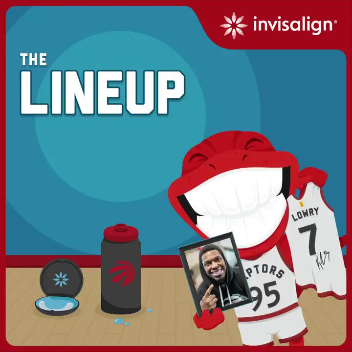 While we get ready to get back to basketball, check out the game my friends at @Invisalign have launched in the Raptors app. Play for a chance to win a jersey signed by me! #Invisalign #ad https://t.co/WK5o2d8BcZ https://t.co/a8KRY2mnzY