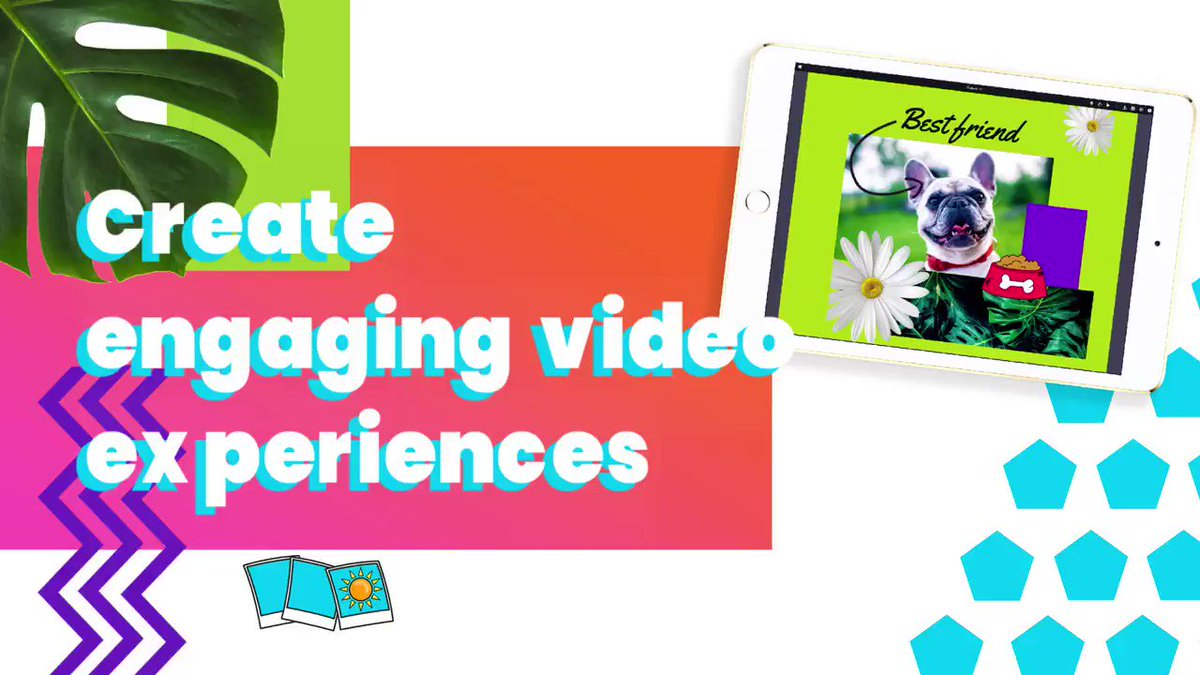 Image for the Tweet beginning: Want to create eye-catching videos