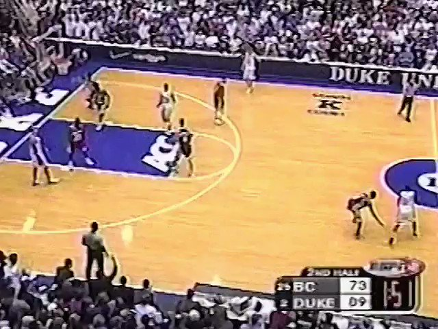 Duke's @RealJayWilliams consistently rocked defenders with the Shammgod. https://t.co/YNeKb9hFan