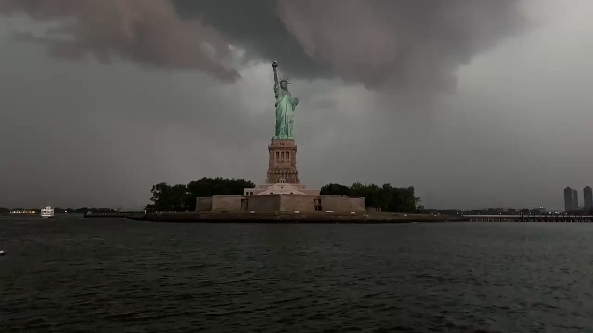 Lady Liberty and @AOC and Mother Nature are mad as hell and we are not going to take it anymore.
